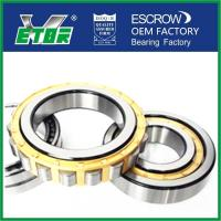 China High Speed Cylindrical Ball Bearing , Cylinder Roller Bearing Low Vibration on sale