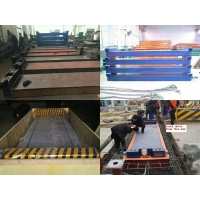 Quality 3.4M Heavy Duty Truck Scale Weighbridge Composite Metal Rust Proof for sale