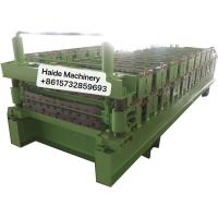 Buy Wall Panel Metal Roofing Corrugated Tile Making Machine Carbon Building Material 4kw Power at wholesale prices