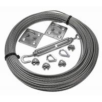 Quality Galvanised wire cable assemblies Catenary Kits 3MM steel wire rope for sale