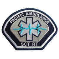 China Pacific Ambulance Embroidery Patch&Badge on sale
