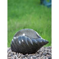 Shell Shape Cast Stone Fountains For Home Decoration Weather Resistant