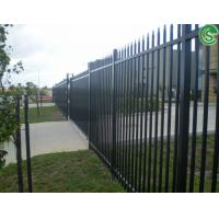 Quality USA garden decorative metal fence tubular steel fencing wholesale for sale