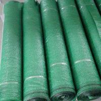 Quality Agricultural Greenhouse Shade Net / Green Sun Shade Net With Size Customized for sale