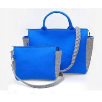 Buy New fashion top selling women felt leisurebag/shopping bag/handbag at wholesale prices