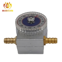 Quality 270° Rotation Angle 1.5m3/H Shut Off 60min Gas Timer Valve for sale
