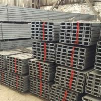 China Carbon U Channel Steel UPN Standard Size 6m 9m 12m Length Cut To Size on sale