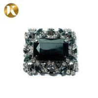 Quality Luxury Europe Style Crystal Shoe Buckles 5.5cm*4.8cm With Super Durability for sale