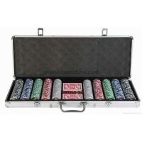 Quality 500pcs poker chip set for sale