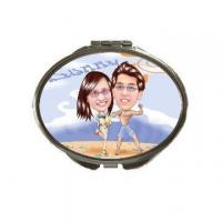 Quality Sublimation Products Dressing mirror(NO.mkk B26 7x5.7cm) for sale