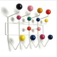Quality Foodstuffs Fashion home decoration style candy colored balls hanging hook Coat Rack for sale