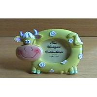 Polyresin Gifts Item No.HP-2001Product NamePolyresin cow picture frame: 2x3
