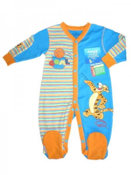 Buy Children's Apparel 100% Cotton Interlock with Tigger Applique at wholesale prices