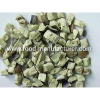 Freeze Dried Vegetables Freeze Dried Aubergine Diced