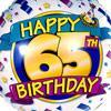 Quality 65th Birthday Balloon for sale