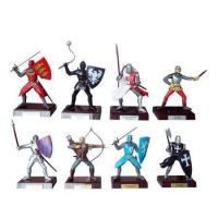 Quality Mini Plastic Doll and Figurine English Medieval Warriors for sale