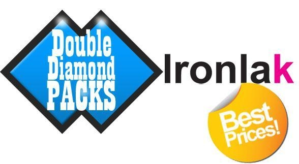 Buy Ironlak Double Diamond Packs (18 Cans) at wholesale prices