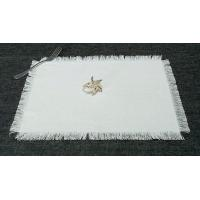 Quality Western Food Mat Cotton Hemp Blended Textile-Ro... for sale
