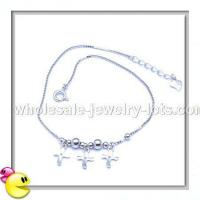 Quality 925 silver anklets for sale