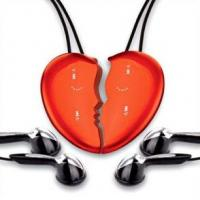 Quality MP3 player without screen Product NameHeart Shape MP3 Player MP3068 for sale