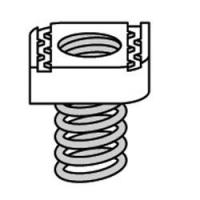 Buy cheap CompressionCoupling,Zinc ProductChannelNuts from Wholesalers