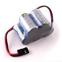 Quality Receiver Packs FTX2510 FTXVoltz 1400mah 5-cell 6v Hump Pack w/Futaba Connector for sale