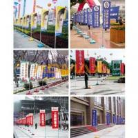 Quality Flag Pole Roll up stand for sale