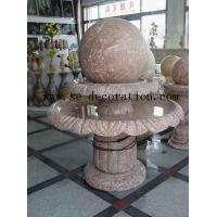 Lantern Product Namered line marble two-layer fortune ball sculpture