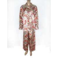 Quality Ladies's Wear 100% Polyester Satin Pajama (2) for sale