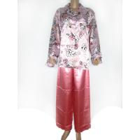 Quality Ladies's Wear 100% Polyester Satin Pajama for sale