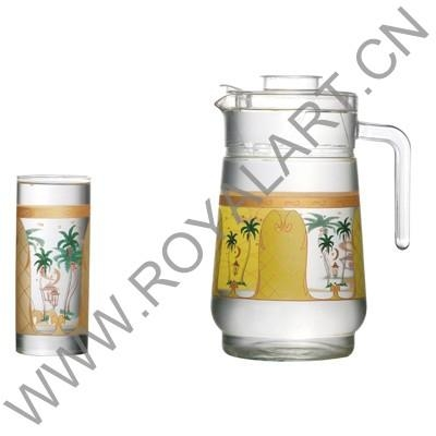 Buy PITCHER & DRINK SET GL-2266-13 at wholesale prices