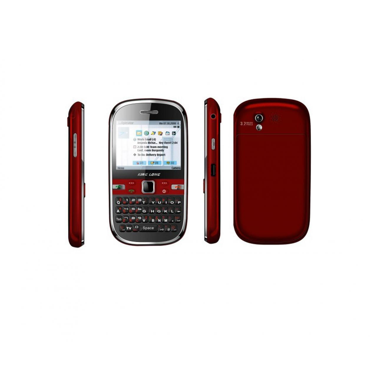 Quality DVB-T WIFI Digital TV mobile phone E66(QWERTY) for sale