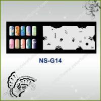 Buy cheap Airbrush Nail Stencil Model No.: NS-G14 from wholesalers