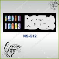 Buy cheap Airbrush Nail Stencil Model No.: NS-G12 from wholesalers