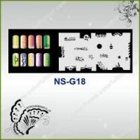 Buy cheap Airbrush Nail Stencil Model No.: NS-G18 from wholesalers