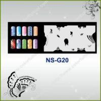Buy cheap Airbrush Nail Stencil Model No.: NS-G20 from wholesalers