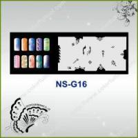 Buy cheap Airbrush Nail Stencil Model No.: NS-G16 from wholesalers