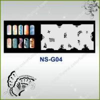 Buy cheap Airbrush Nail Stencil Model No.: NS-G04 from wholesalers