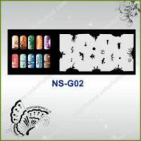 Buy cheap Airbrush Nail Stencil Model No.: NS-G02 from wholesalers