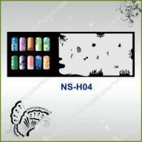 Buy cheap Airbrush Nail Stencil Model No.: NS-H04 from wholesalers
