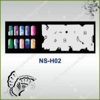 Buy cheap Airbrush Nail Stencil Model No.: NS-H02 from wholesalers