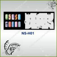 Buy cheap Airbrush Nail Stencil Model No.: NS-H01 from wholesalers
