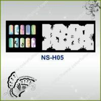 Buy cheap Airbrush Nail Stencil Model No.: NS-H05 from wholesalers