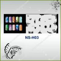 Buy cheap Airbrush Nail Stencil Model No.: NS-H03 from wholesalers