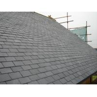 Quality rectangle black chinese roofing slate for sale