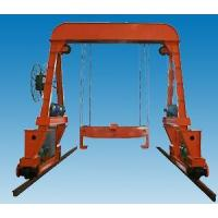 Buy cheap DT10 underground gantry track laying crane from wholesalers