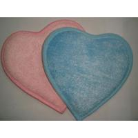 Quality Cleaning pad in heart shape for sale