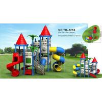 Quality castle outdoor playgrounds for sale