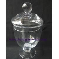 Quality candy jar with lid for sale