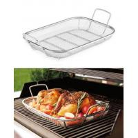 Quality Mesh BBQ Grill Roasting Pan for sale